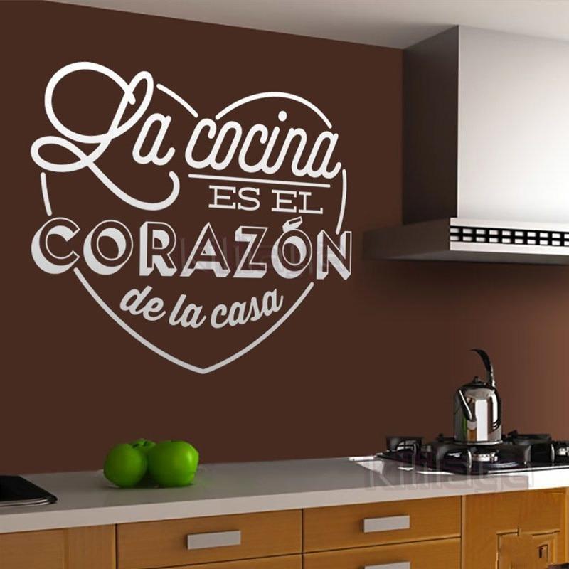 Stickers Spanish Quote Dios Bendiga Este Hogar Vinyl Wall Sticker Decals Art Vinilos Pegatinas Home