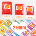2.6mm Mini Hama Beads jigsaw puzzle Available Perler/fuse/iron Beads 88 color can choose for kids DIY catoon 3D Education toys