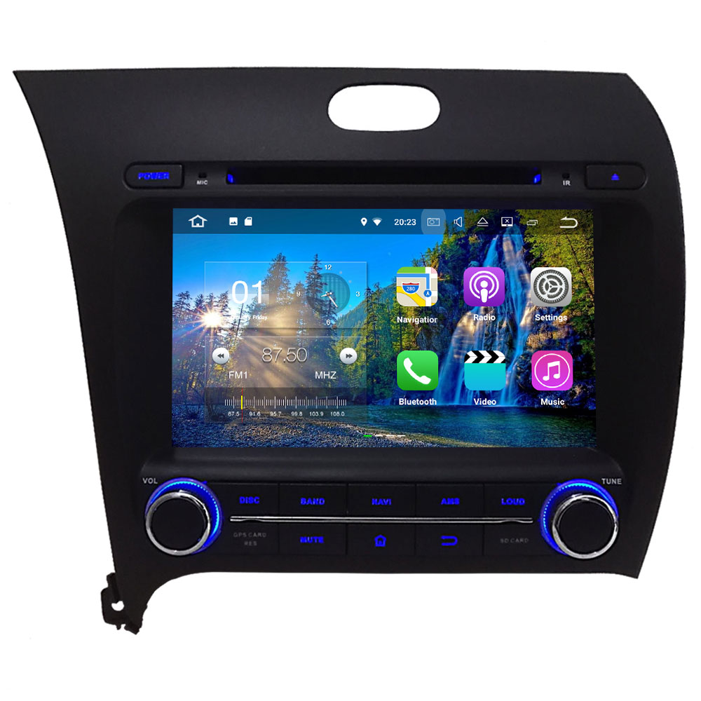 8 Quad Core Android 7 1 2 2GB RAM Touch Screen Car Multimedia Player font b