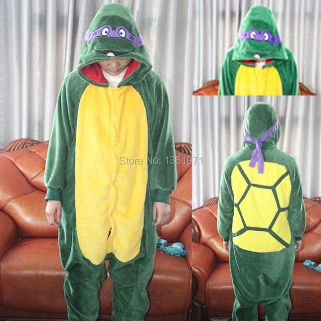 9c522a708 HKSNG Sea Turtle Pajamas Animal Winter Women Men Onesies Adult ...