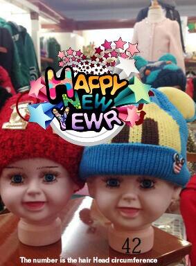 1 pz Bambini ragazzo modello di Testa circonferenza 49 cm mostra cappello  occhiali sciarpa dei capelli della parrucca testa di manichino di  Visualizzazione ... 6ee7ee6fc57e