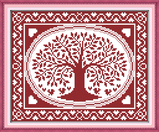 Tree Of Life Counted Cross Stitch Kit
