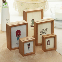 Multi Function Photo Frame 5 6 7 Inch Family Kids Gifts Coins Storage Boxes DIY Wall