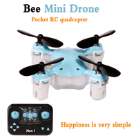 2016 Brand NEW Mini Aircraft NaNo 1 RC Helicopter Drones Quadcopter 2 4G 4CH 6 Axis