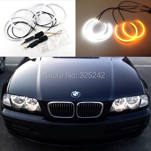 for bmw e46 halogen headlight excellent ultrabright dual color