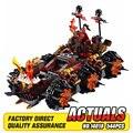 2016 НОВЫЙ лепин 544 шт. 14018 nexue Рыцари Общие Magmar's Siege Machine судьбы Строительные Блоки игрушки brinquedos