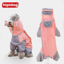 Hipidog Pet Dog Raincoat Puppy Poodle Waterproof Slicker Overall Clothes For Small Dogs Yorkshire