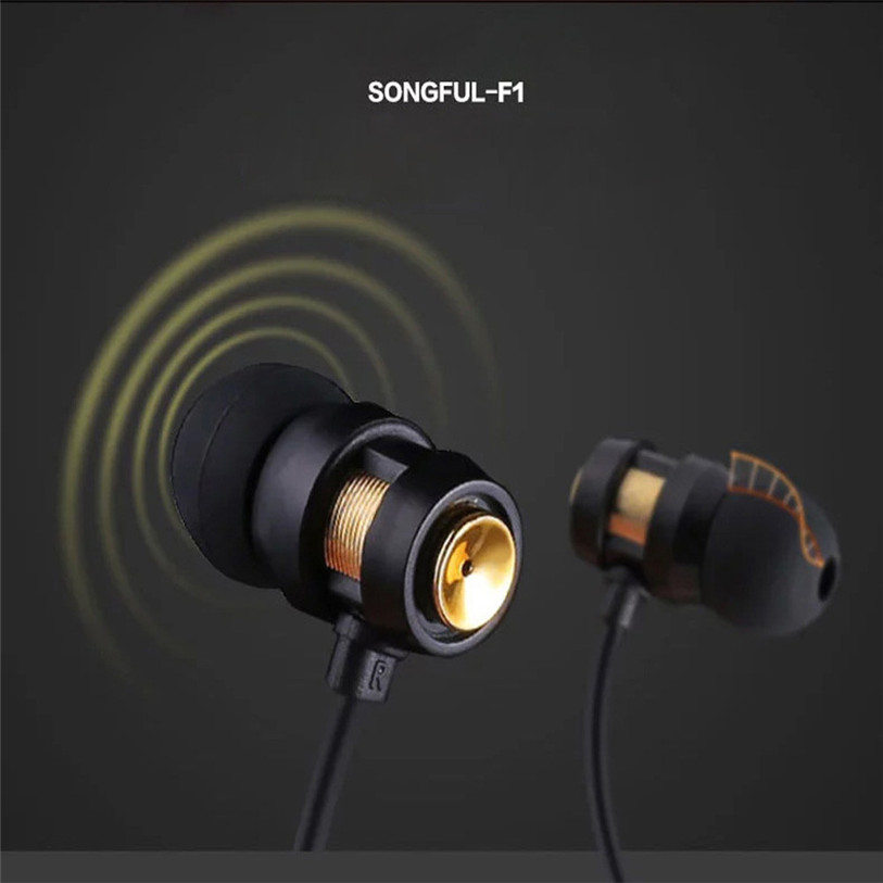 HL 2017 New Fashion1PC Super Bass Stereo In-Ear Earphone Sport Headset with Headphones Storage Bag Drop shipping for phone  SP23 kz es3 hybrid hifi headphones dual unit moving iron in ear headphones bass stereo headset sport earphone for mobile phone earbud