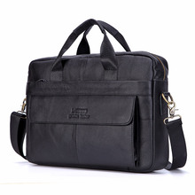 Brand Men Briefcase Genuine Leather Bag Cowhide Men Handbag Large Capacity Male Bag Laptop Messenger Bags Leather Shoulder Bags цена в Москве и Питере