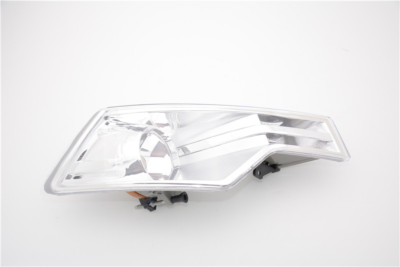 1Pcs Right Side Clear Front Fog Lamp Fog Light Without Bulb RH Car Styling For Citroen C5 2008-2015 1pcs front halogen foglamps clear glass lens front fog light driving lamp for volkswagen passat b6 for right side