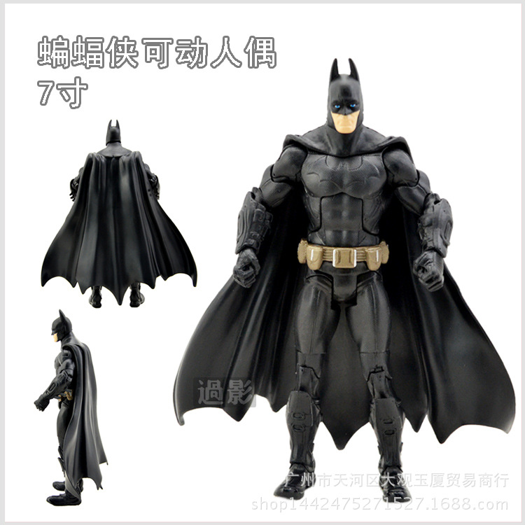 Batman Action Figure Joint Moveable Various Pose HOT Super Heroes Avengers Figure Kids Toy 715CM Boys Favourite Toys