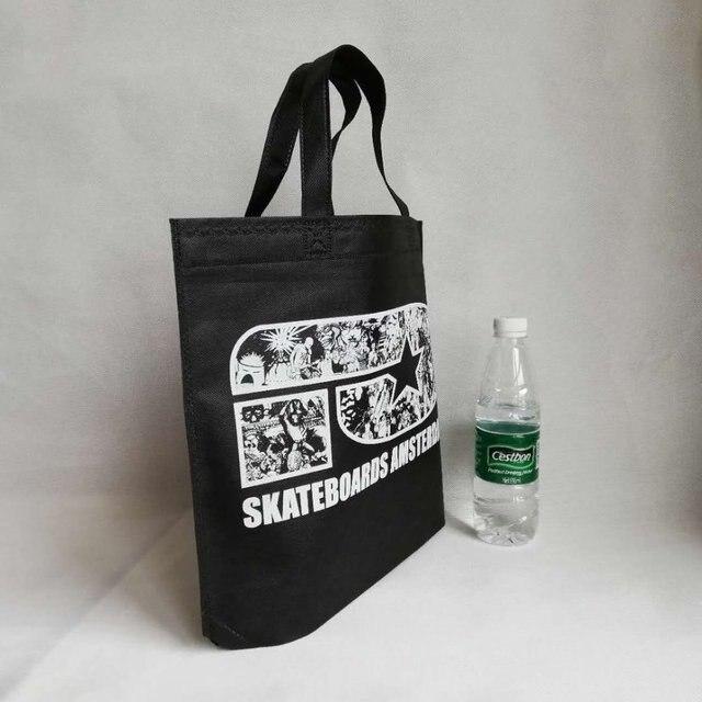 5d6cf67fa 500 unids/lote 26Hx33x10cm de la mejor oferta de bolsas de compras  reutilizables de embalaje