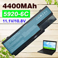 4400mAh Laptop Battery for Acer Aspire 5930G 6530 6530G 6920 6920G 6930 6930G 6935 6935G 7220 7230 7330 7520