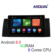 Ancluu 9 Inch Big Screen Android 8 0 4G RAM Car Dvd Player For BMW E39