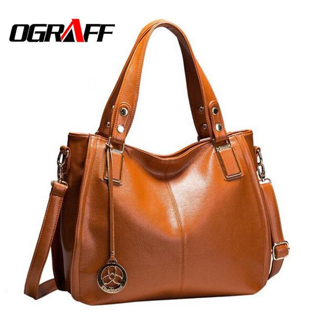 OGRAFF 2017 mujeres bolso bolsos crossbody marca dólar precio bolsos de diseño de alta calidad mujeres bolsos de cuero messenger bags