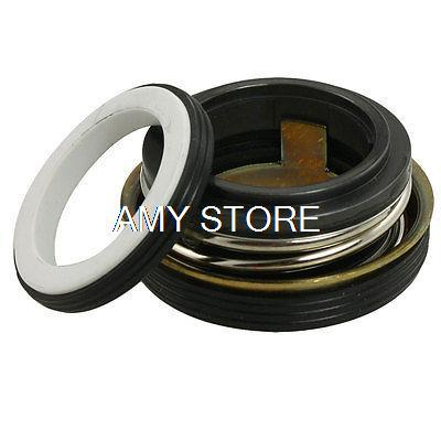Single Coil Spring Rubber Bellows SB-35 35mm Inner Dia. Pump Mechanical Seal SB-20/25/28/30/35 10pcs 208 17 17mm internal dia metal single spring bellows mechanical shaft seal page 6
