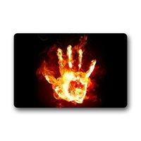 Comfortable Hand Fire Number Five Doormats Door Mat 30(L)x18(W)