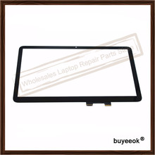 "Original 15.6 ""pulgadas 15-u011dx Digitalizador Pantalla Táctil Del Panel de Vidrio para HP ENVY x360 15-u171nz 15-u231nd 15-u337cl"