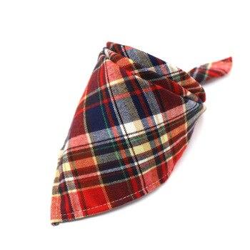 pets-winter-dog-bandanas-cotton-plaid-washable-pet-bandanas-scarf-bow-ties-collar-cat-samll-middle-large-dog-grooming-products