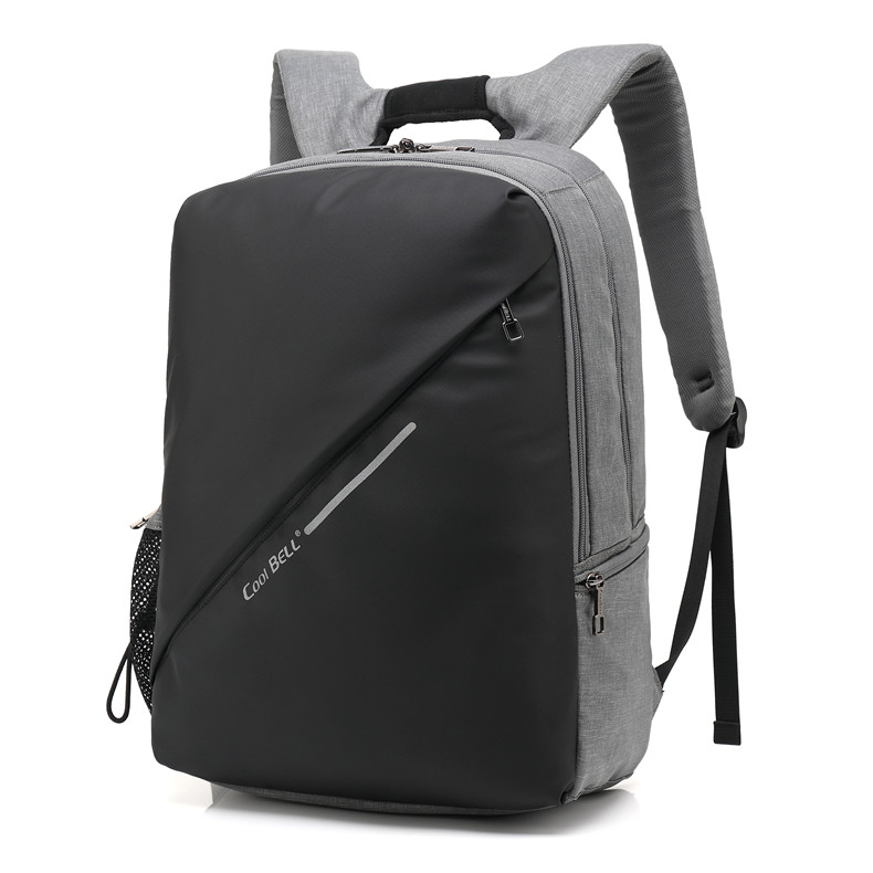 Coolbell Laptop Backpack for 15.6 inch Notebook USB Charging Port Male Shockproof Businessman Women Travel Computer Bag 14 15 15 6 inch flax linen laptop notebook backpack bags case school backpack for travel shopping climbing men women