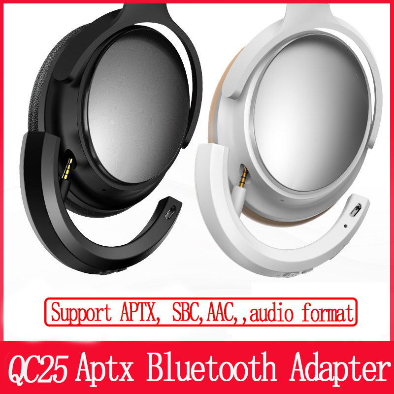 Wireless Bluetooth Adapter for Bose QC25 QC 25 QuietComfort 25 Headphones (QC25) support SBC ACC APTX audio format