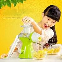 Juice machine 100% Fruit nutrition reserved masticating juicer Fruit Vegetable Tools Kitchen Multifuctional Kids Juice Extractor