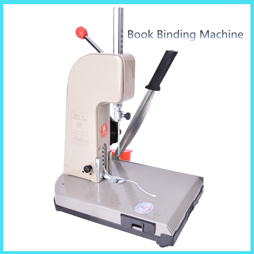 Manual Book Binding Machine With Knife Financial