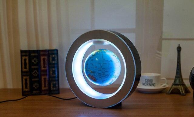 Globe Flottant Magnétique Lévitation Lumière Antigravity Magie/Roman Lampe bola de plasma balle 4