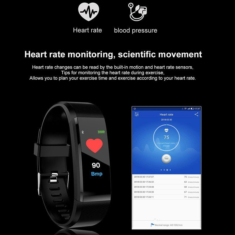 Blood Pressure, Heart Rate Monitor 19