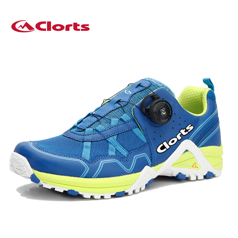Clorts Men Running Shoes 3F013B/D BOA Lacing System Outdoor Shoes Lightweight Running Sneakers for Men 2017 clorts men running shoes boa fast lacing lightweight outdoor sport shoes breathable mesh upper for men free shipping 3f013b