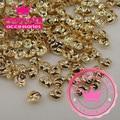 Wholesale 100PCS/Lot 3D Sea Snail Conch Shape Gold Silver Nail Art Phone Decorations,Hair decorations290237