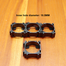 10pcs/lot 18650 lithium battery universal combination of fixed bracket ABS fire retardant plastic arbitrary buckle
