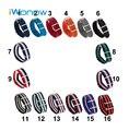 Nylon venda de reloj de 22mm para samsung gear s3 clásico/frontier Pin Hebilla de La Correa de Pulsera de Acero inoxidable Pulsera de La Correa Negro Azul Rojo