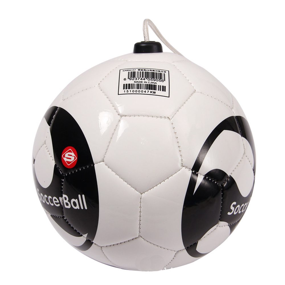Football Heading Shooting Training Practice Soccer Balls Size 2 Game Ball Practice Trainer Equipment Kick Train Sports image
