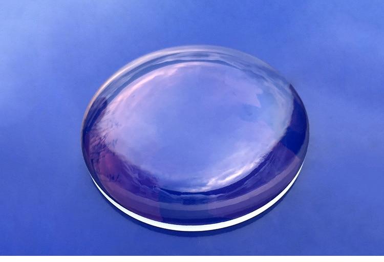 1PC Focal Length 75.5mm Plano Convex Glass Lens Optics Glass Lenses Optical Element Diameter 56mm sy 910pa quartz glass plano concave lens diameter 25 4 focal length 38 1