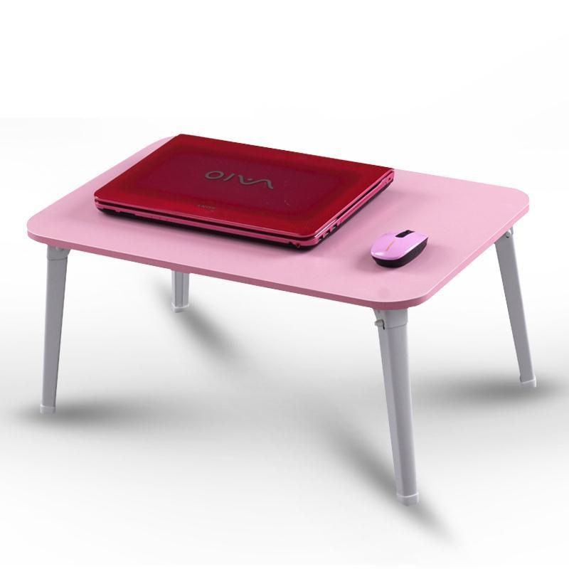 Comter on bed with a laptop table folding simple dormitory household artifact lazy little desk FREE SHIPPING lazy folding bed on a laptop computer desk student dormitory receive table can be portable writing desk
