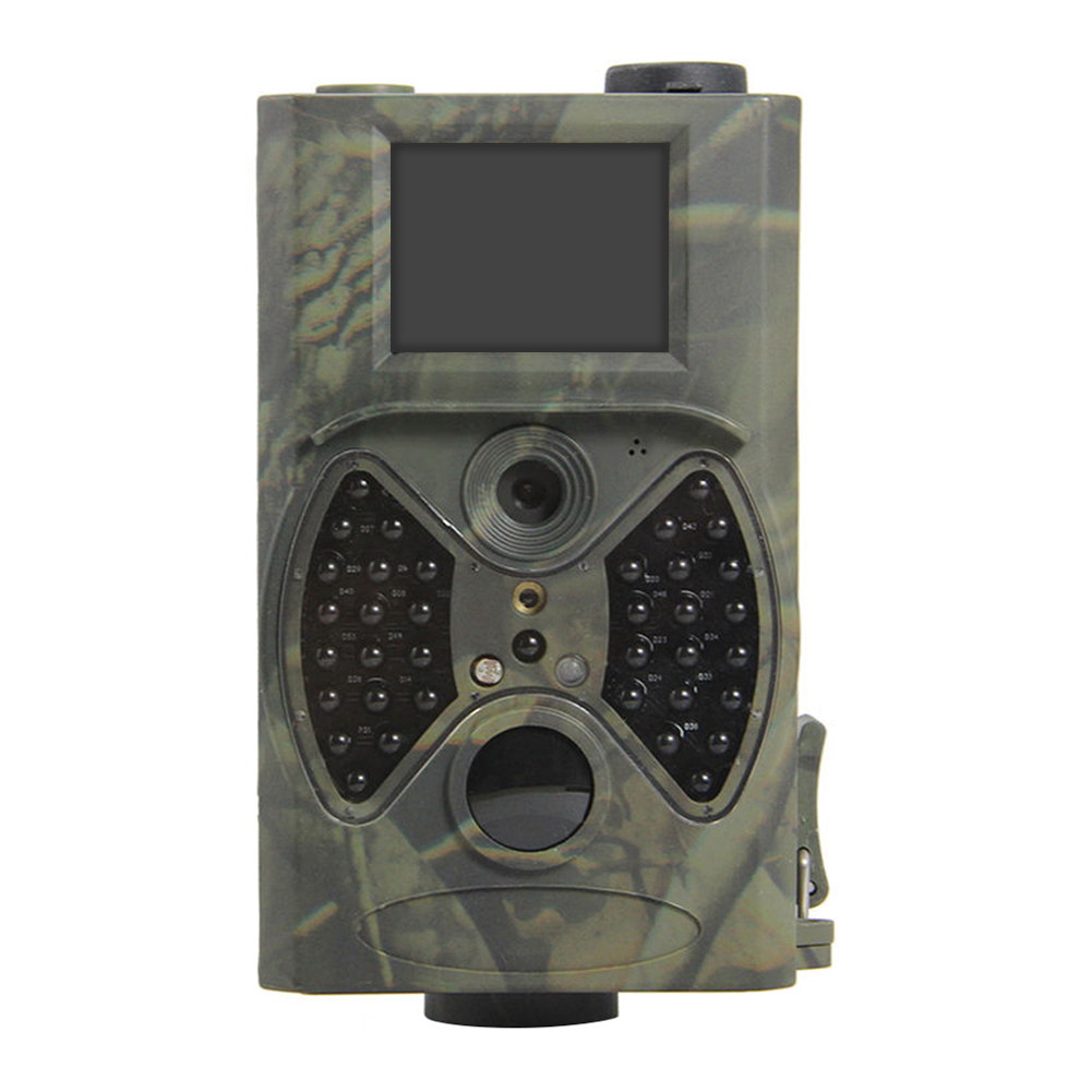 Trail Hunting Camera 1080P 12MP Infrared Cameras HC300A HC300 Photo traps Night Vision Outdoor Hunter Cam Solar Panel Charger