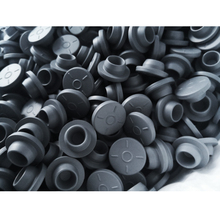 100pcs 20mm  Grey Color Butyl Rubber Stopper Medical for Vials Self Sealing Injection Cap