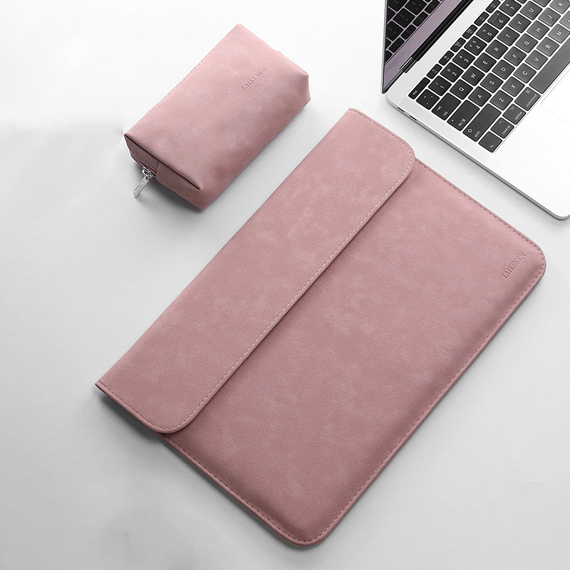 New Waterproof PU Leather 11 12 14 15  Inch Sleeve Laptop Bag 15.6 For Macbook Pro 13 Case For Xiaomi Air 12.5 13.3 Lenovo Yoga