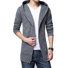 HOT 2017 Fashion Men's Sweaters Coats Long Sleeve Mens Winter Sweaters Hooded Knitted Casual Sweaters Wholesales