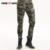 Pantalones para hombre 2016 Otoño Joggers Sweatpants Camo Lazo de La Cintura Elástica Pantalones Delgados del Harem de los Pantalones de Los Hombres Pantalones Elásticos Mk-7212B