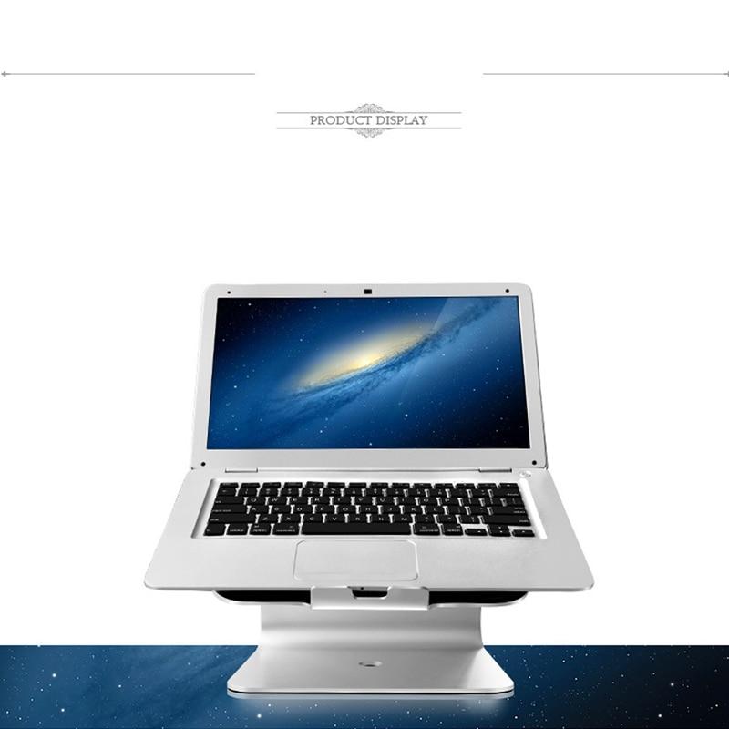 Sliver Laptops Desktop Stand Holder For MacBook New Lapdesks For 14-17inch Notebook Cooling Cooler Pad Stand For Lenovo