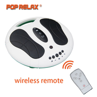 POP RELAX electric foot massager slimmer muscle stimulator foot massage patch electrodos pad physiotherapy tens machine massager