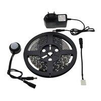 Motion Sensor LED Strip Waterproof 1 5m PIR LED Strip Whtie Warm White With Automatic Shut