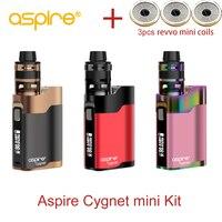 2018 Newest Aspire Cygnet mini kit 80W cygnet mod with 2ml Revvo mini tank fit innovative ARC revvo mini coil Aspire Vape kit