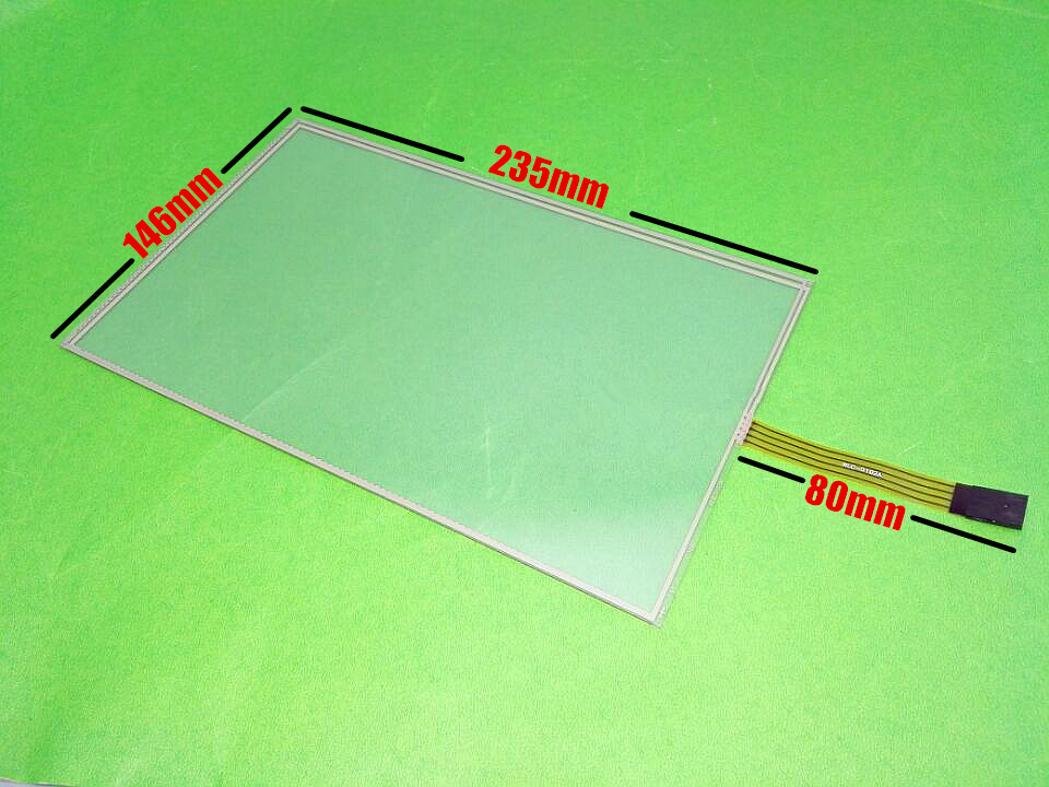 Original 10.2- inch 4 wire Resistive 235x145mm Touch Screen Panel  for 235*145mm Touch screen digitizer panel  free shipping new 10 1 inch 4 wire resistive touch screen panel for 10inch b101aw03 235 143mm screen touch panel glass free shipping