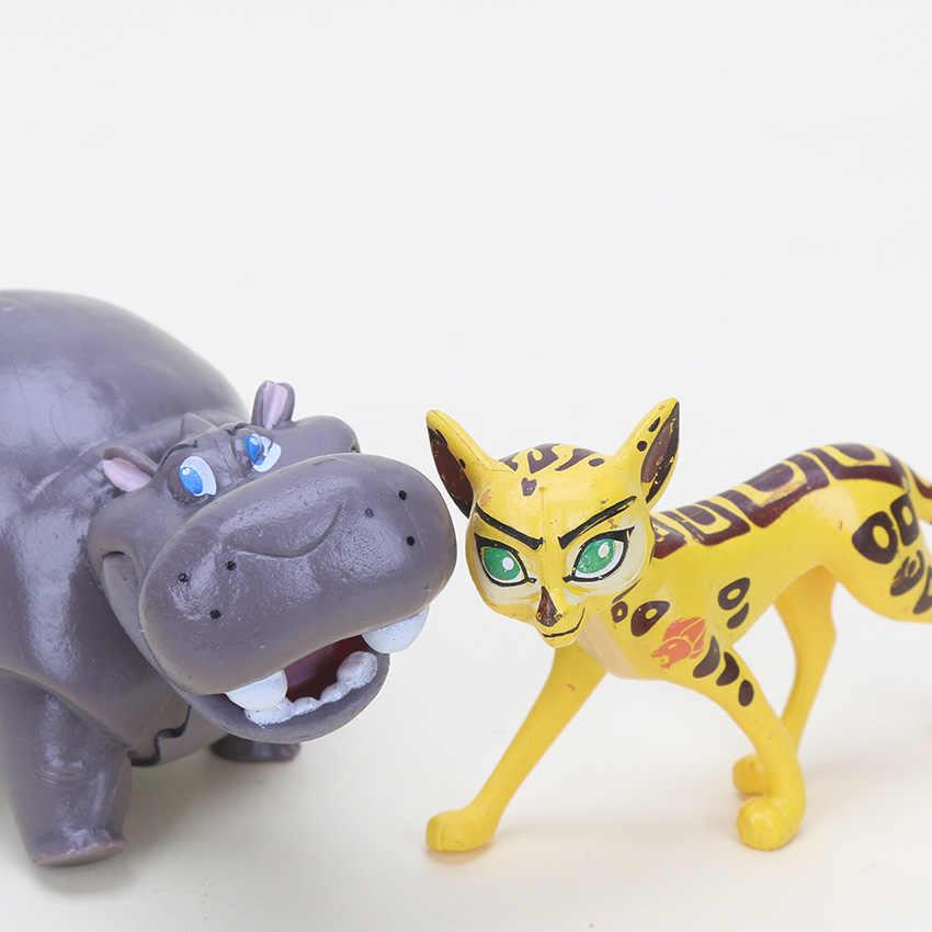 5 pçs/set O Guarda Leão Rei Leão Kion Ação PVC Figuras Bunga Beshte Fuli Ono Animais Dolls Kids Brinquedos Presente
