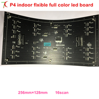 Flexible P4 Smd Indoor Full Color Led Module Widely For Spherical Screen Rhomb Screen Originality Screen