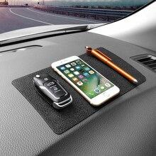 Anti-Slip Mat Dashboard-Decoration Silicone Ornament Car Trim Key-Glasses Multi-Function