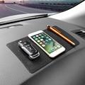 Car Anti-Slip Mat Ornament Silicone Multi-function Non-slip Pad Dashboard Decoration Trim Key Glasses Cell Phone 22.5x14.5CM